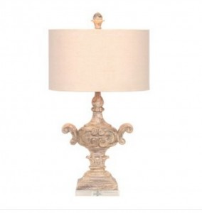 Natural crystal base table lamp for $49.00 from Kirkland's {Look for Less} The Creativity Exchange