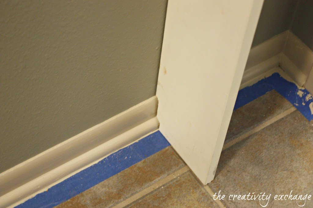 Tutorial for doing a built-in mudroom wall in a narrow hallway (The Creativity Exchange)