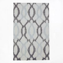 IKAT links rug in a 3 x 5 for $129.00 at West Elm {Look for Less} The Creativity Exchange