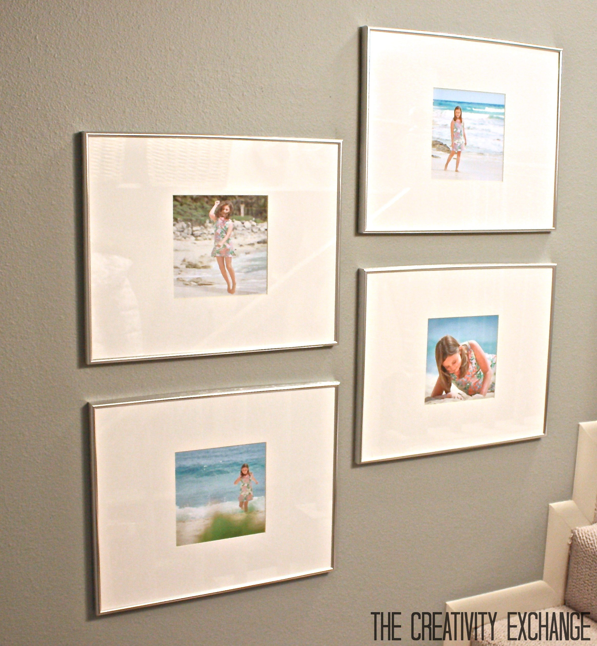 Ways To Hang Pictures Without Frames Full Size Of Ideas