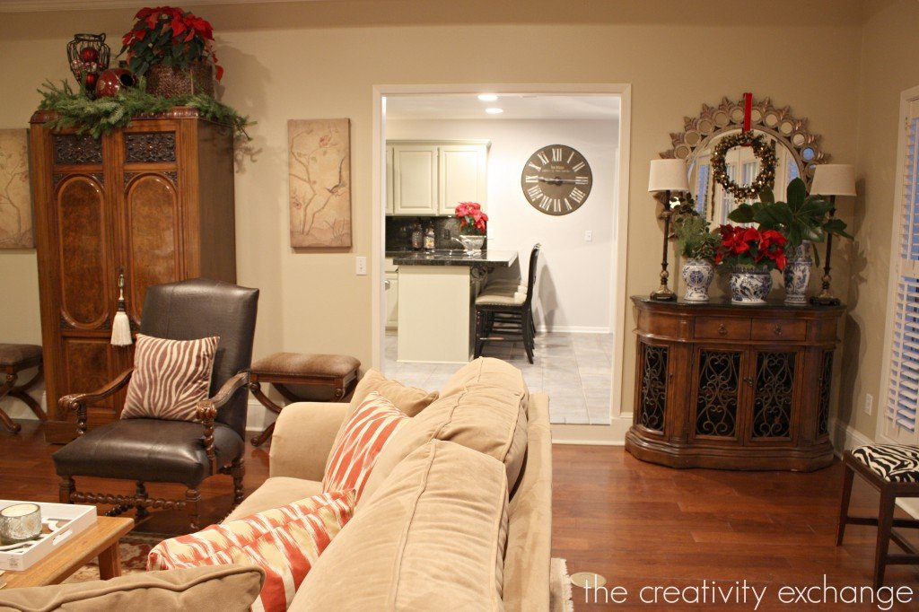 12 Days of Christmas Home Tour {Day 4} The Creativity Exchange