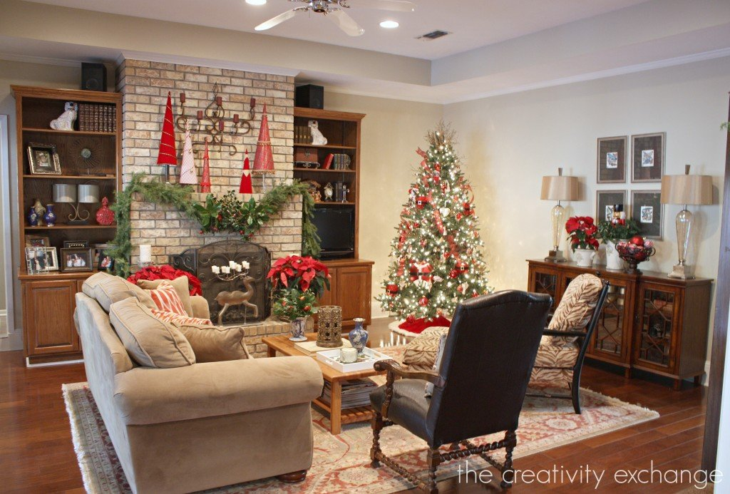 12 Days of Christmas Tour of Homes {Day 4} The Creativity Exchange