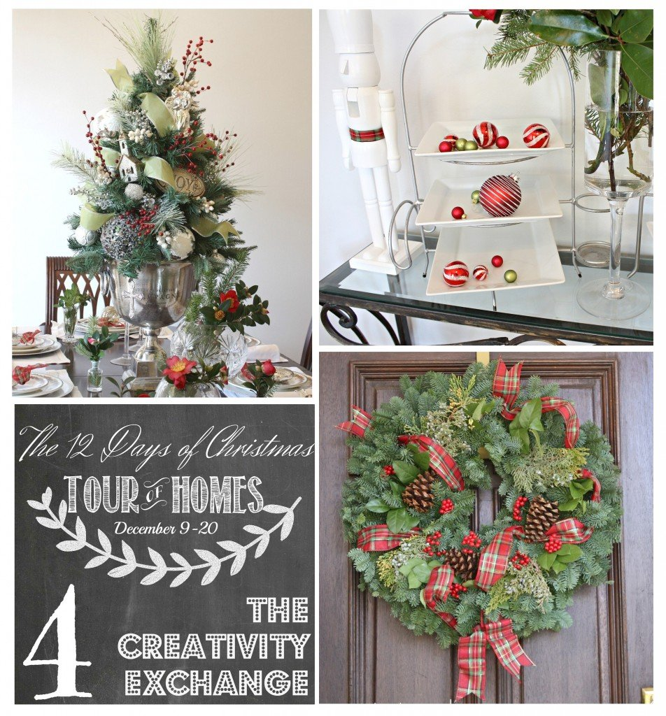 12 Days of Christmas- Tour of Homes {Day 4} The Creativity Exchange