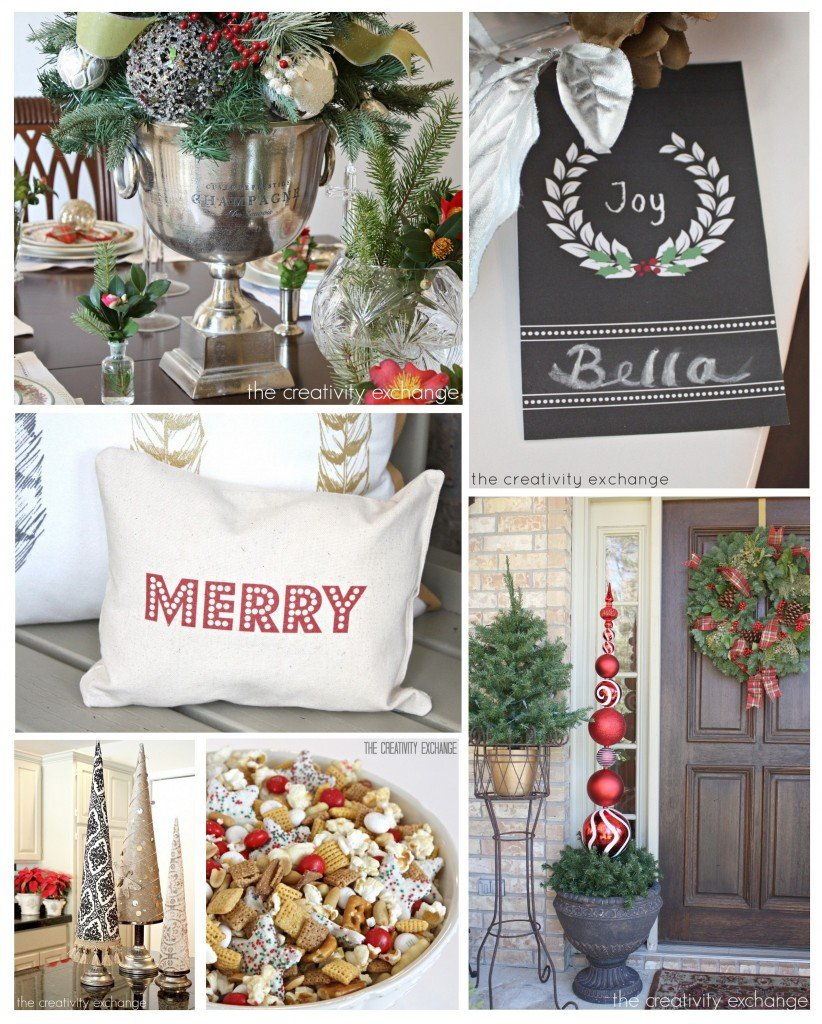 Christmas DIY projects, printables and recipes from The Creativity Exchange