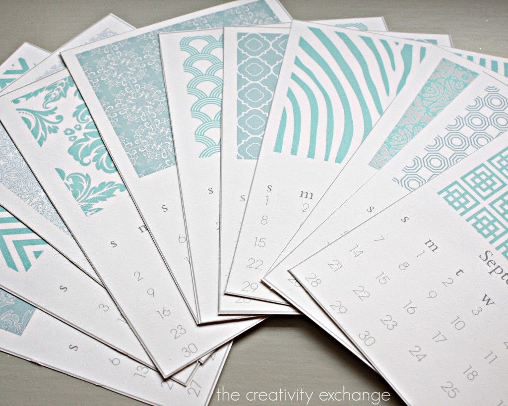 Calendar Design Desktop : Free printable chic desktop calendar