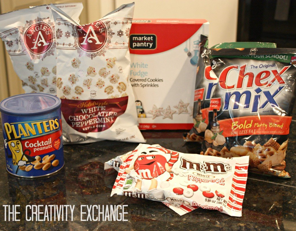 sweet and salty Christmas snack mix. The Creativity Exchange