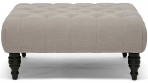 Ottoman from Overstock {Look for Less} The Creativity Exchange