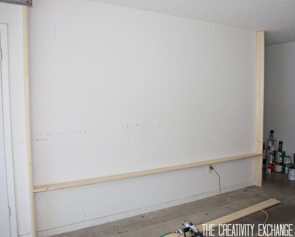 DIY Garage Pegboard Storage Wall. Step by Step {The Creativity Exchange}