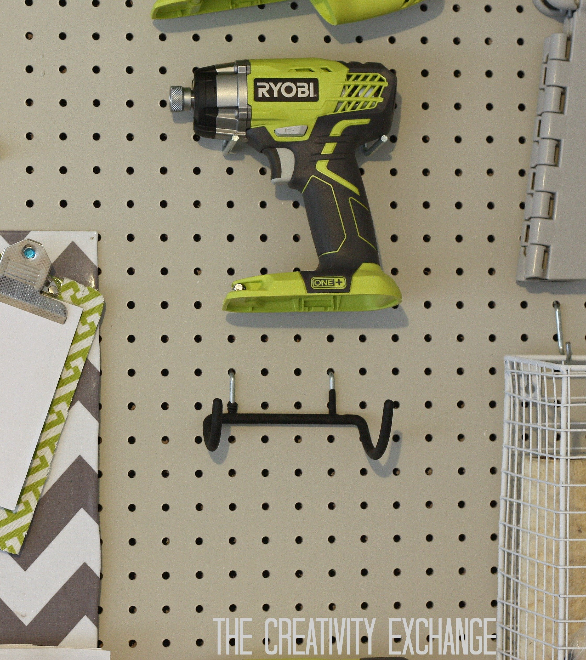 Home Depot Wall Hooks tool holder hooks from home depot {the creativity exchange}