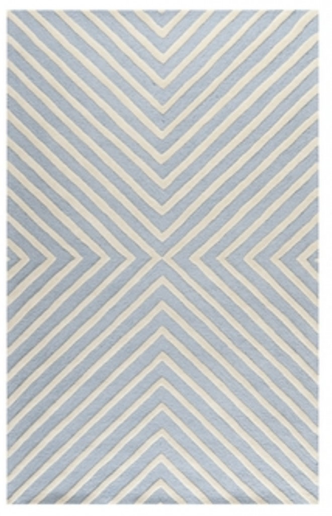 Handmade Cambridge Moroccan Light Blue Rug $103.00 for a 4 x 6 {Look for Less} The Creativity Exchange