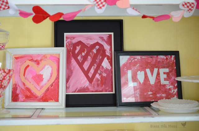 Valentine Paint Projects for Kids {Paint It Monday} The Creativity Exchange