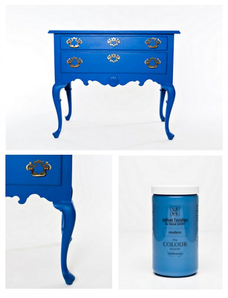 Awesome new one-step furniture paint line called Velvet Finishes {Paint It Monday} The Creativity Exchange