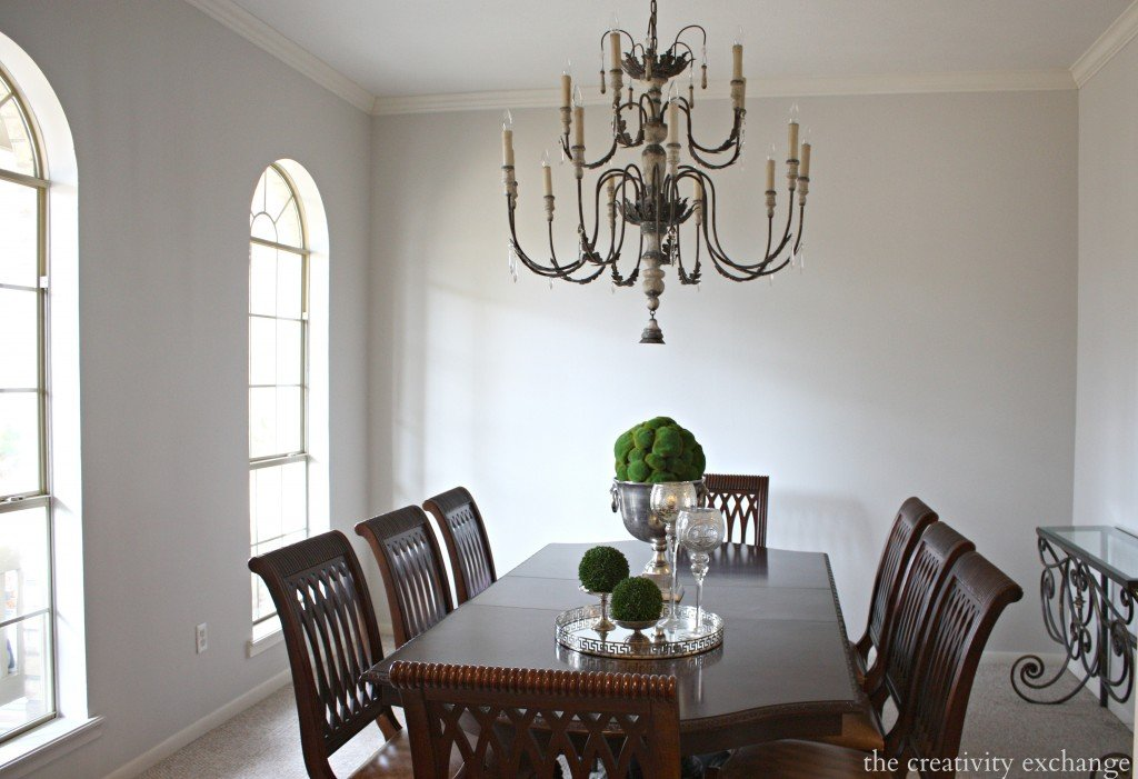 Dining room revamp project  {The Creativity Exchange}