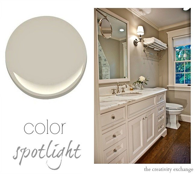 Revere Pewter by Benjamin Moore {Color Spotlight} The Creativity Exchange