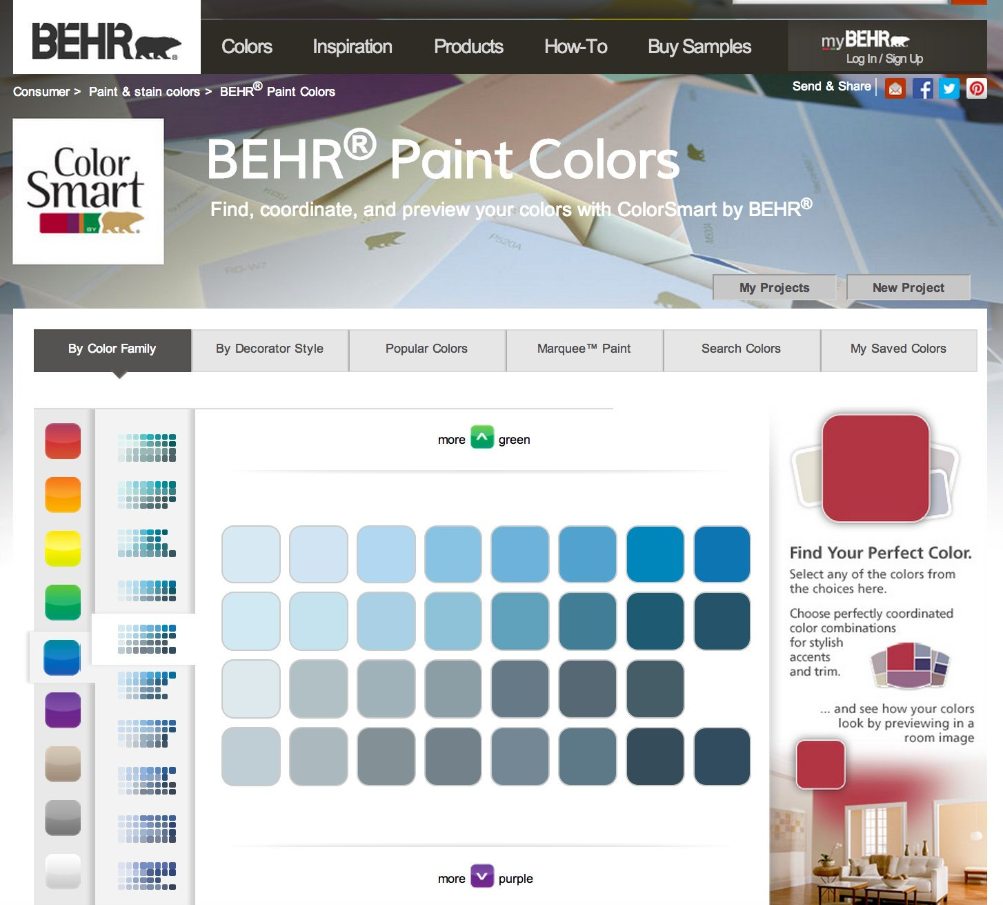 most popular behr paint colorsWhy Behr Paint Blues are My Favorite Blues