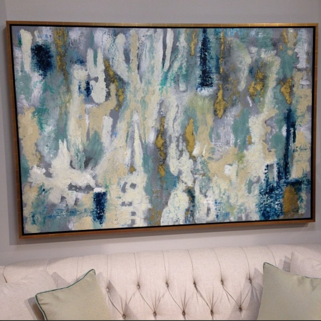 Painting from High Fashion Home in Houston {The Creativity Exchange}