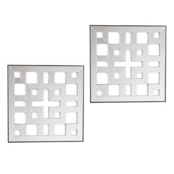 Square Duo Wall Plaques (set of 2) from Kirkland's- The Creativity Exchange