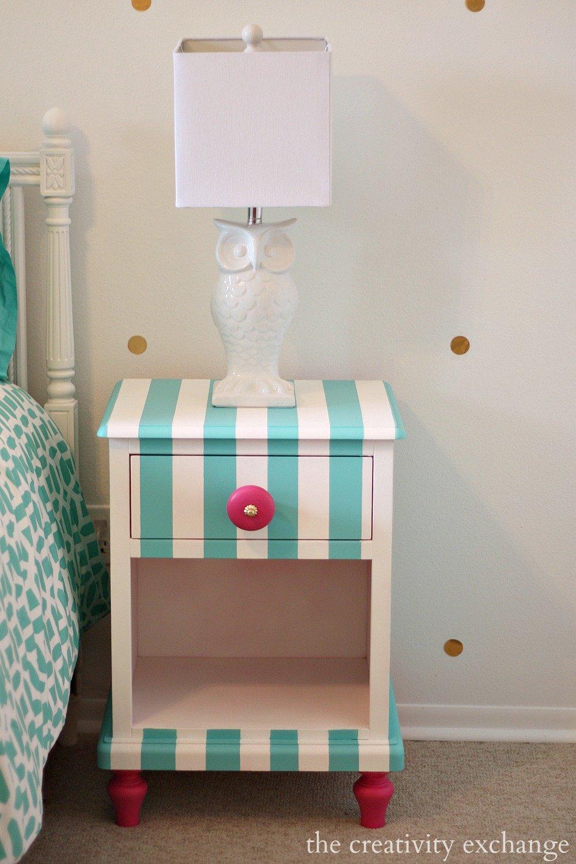 Creative Ways to Paint Children's Furniture
