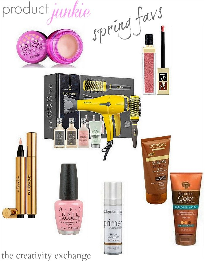 Favorite spring beauty products that are awesome {The Creativity Exchange}