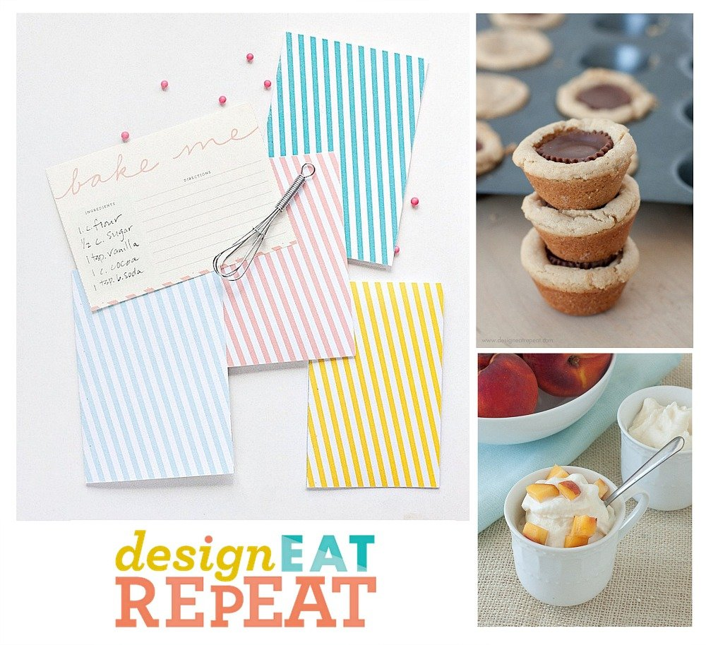 Favorite Sweet Treats and Printables from Design Eat Repeat