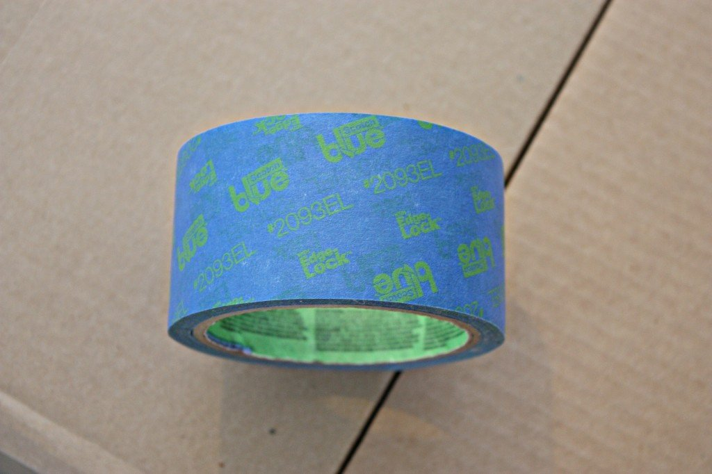 ScotchBlue Painter's Tape with Advanced Edge-Lock is the best painters tape to use for the cleanest lines {The Creativity Exchange}