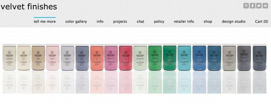 Velvet Finishes- Favorite Furniture Paint Line {The Creativity Exchange}