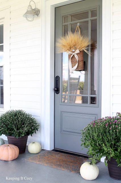 Door Paint Color Is Amherst Gray From Benjamin Moore