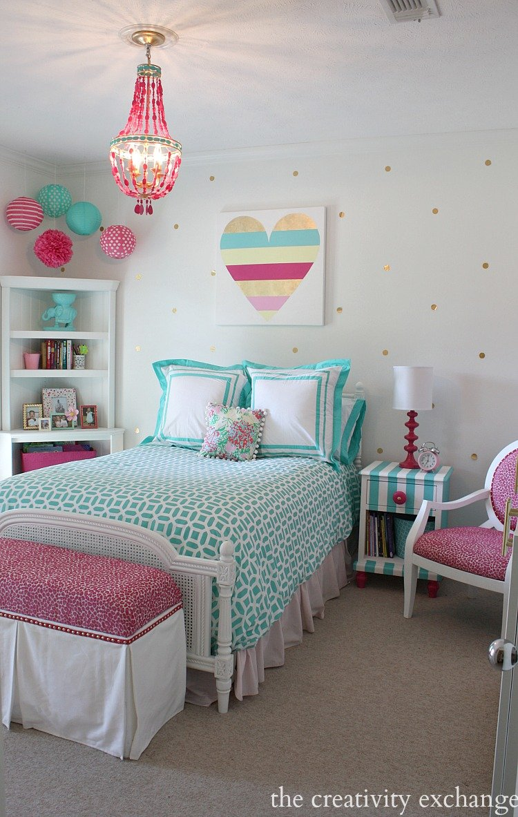 Paint colors in my home my color strategy for Girl room ideas pinterest