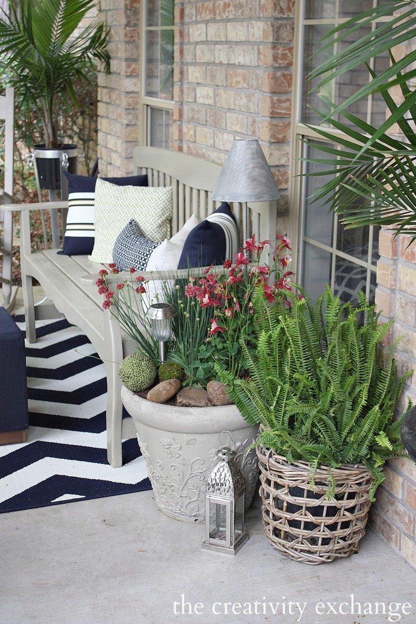 Front porch revamp |The Creativity Exchange