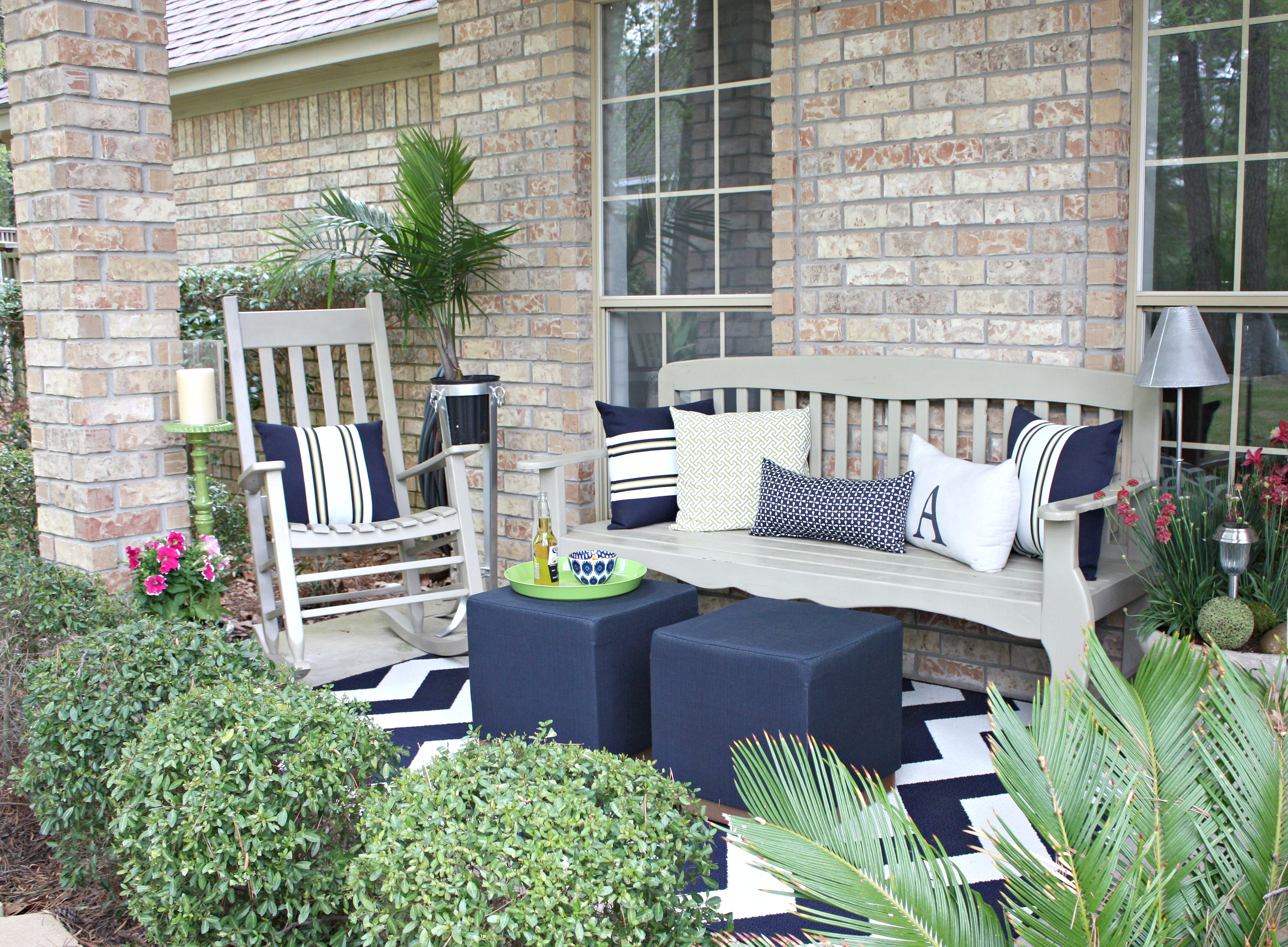Painted Wood Patio Furniture painting outdoor furniture and accessories