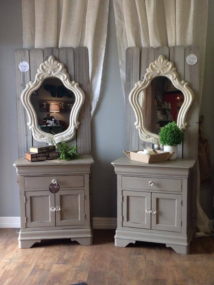 dressers painted with Velvet Finishes from Altar'd