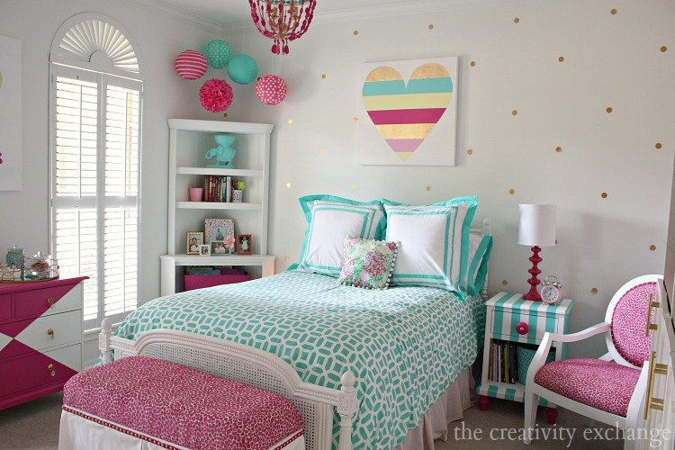 tween girl bedrooms