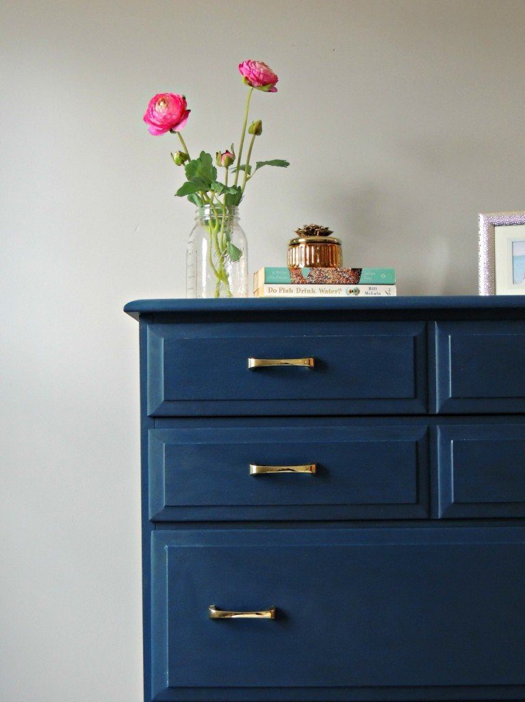 Dresser paint with Velvet Finishes in the color Handsome