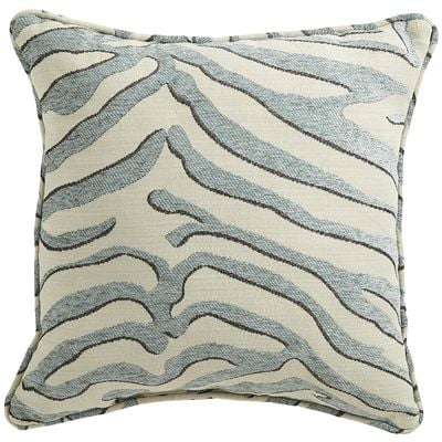 Outdoor zebra pillow from Pier One on sale today for $24.00.  The Creativity Exchange