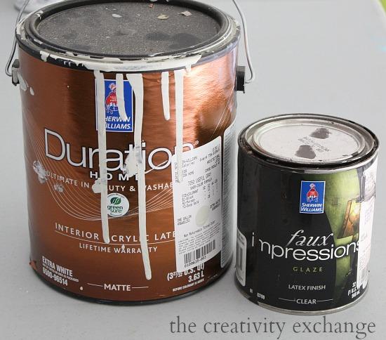 Faux plaster paint technique tutorial. The Creativity Exchange