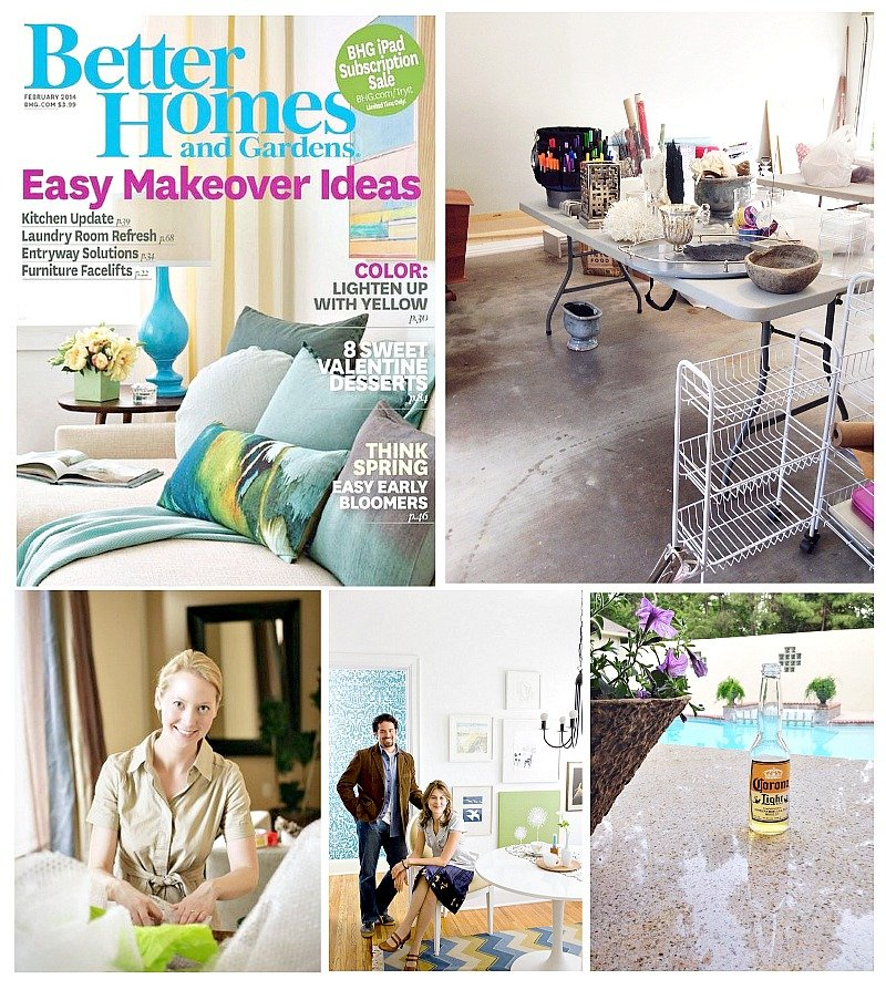 Better Homes and Gardens Magazine Feature and Charm