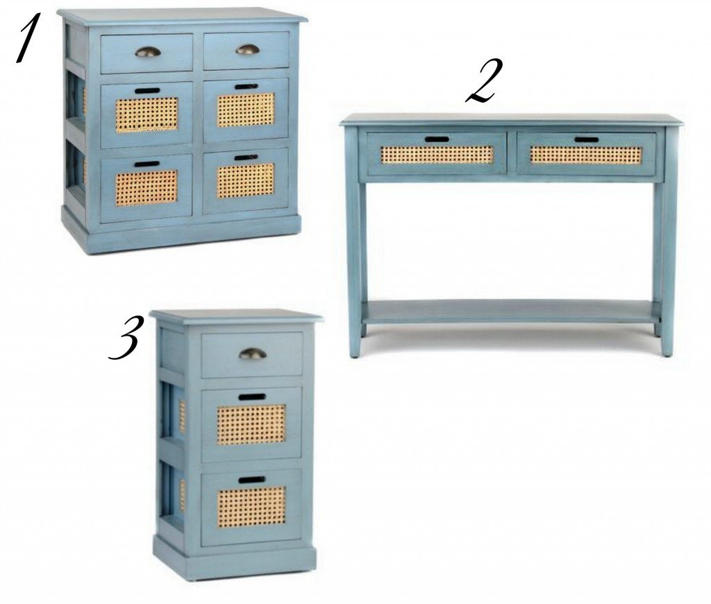 Artic Blue Storage Furniture Pieces from Kirkland's. The Creativity Exchange