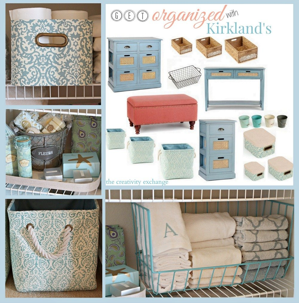 Favorite pretty storage pieces from Kirklands to get organized. The Creativity Exchange