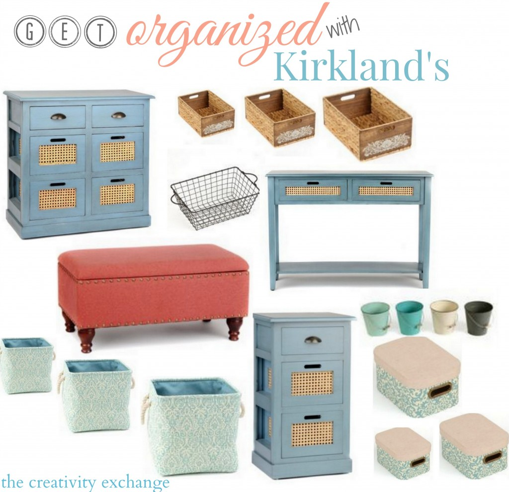 Get Organized with Kirkland's. The Creativity Exchange