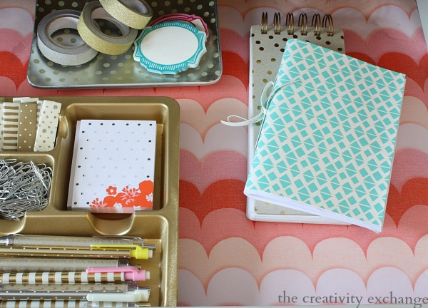 How to Turn Wrapping Paper into Pretty DIY Drawer Liners