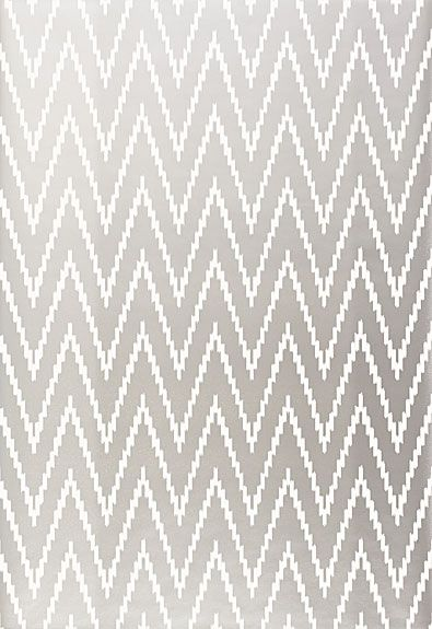 Schumacher Kasari Ikat in Silver.  Wallpaper Crush.  The Creativity Exchange