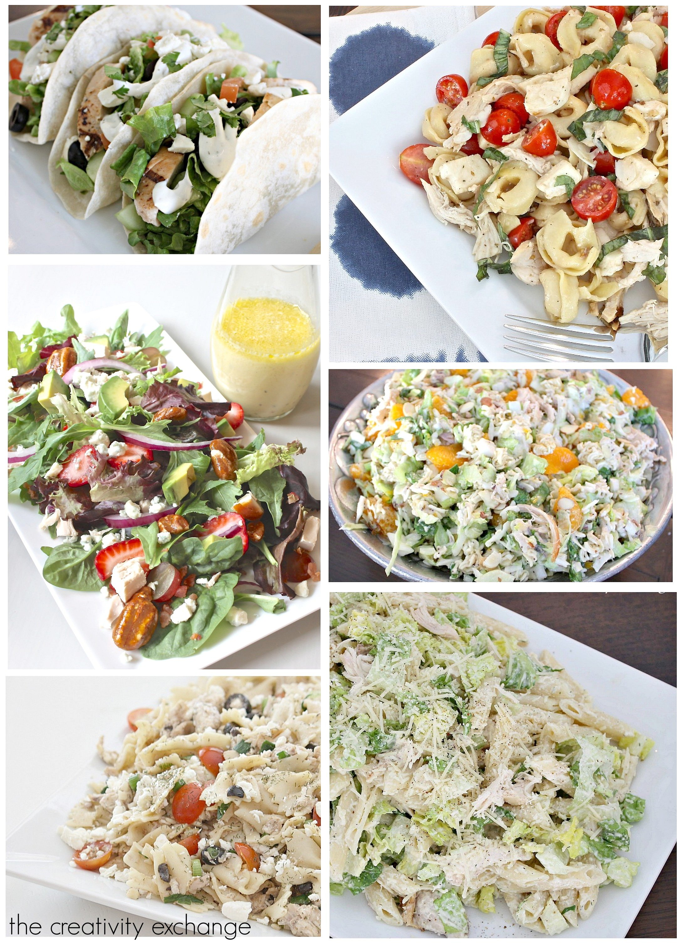 Favorite summer salads from The Creativity Exchange