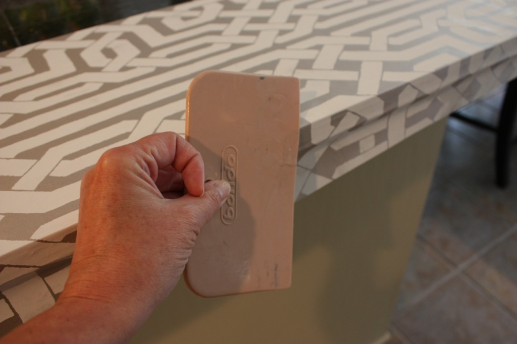 Tutorial for making oversized trays using plywood board and cabinet hardware.  The Creativity Exchange