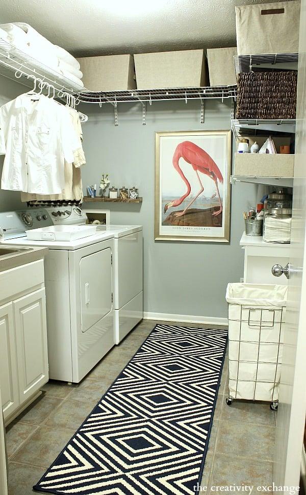 Laundry Room Organizing Revamp Project - Laundry room shelves