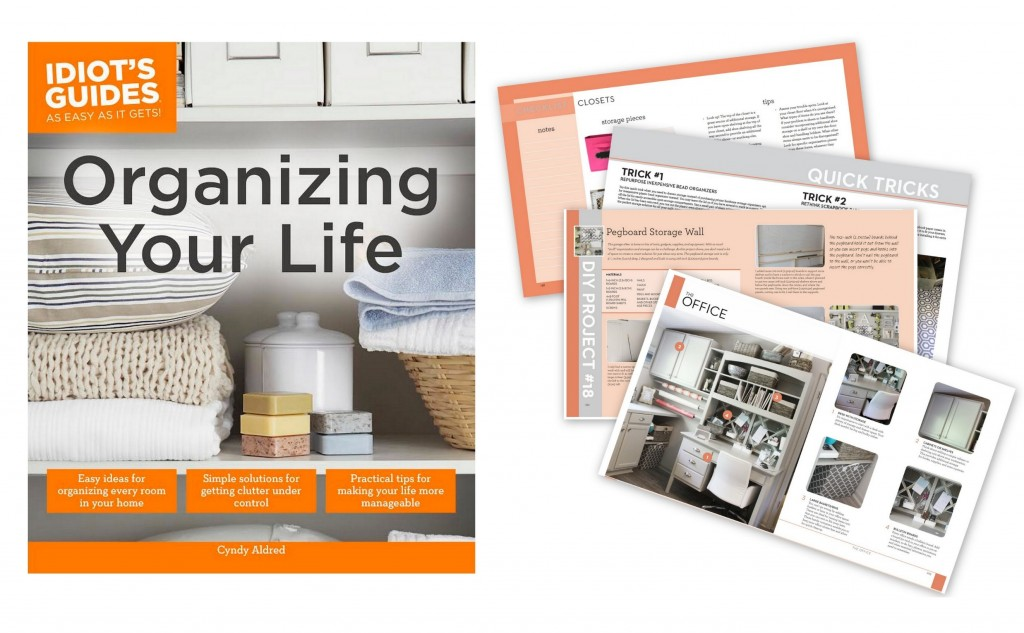 Organizing Your Life Book by Cyndy Aldred from The Creativity Exchange