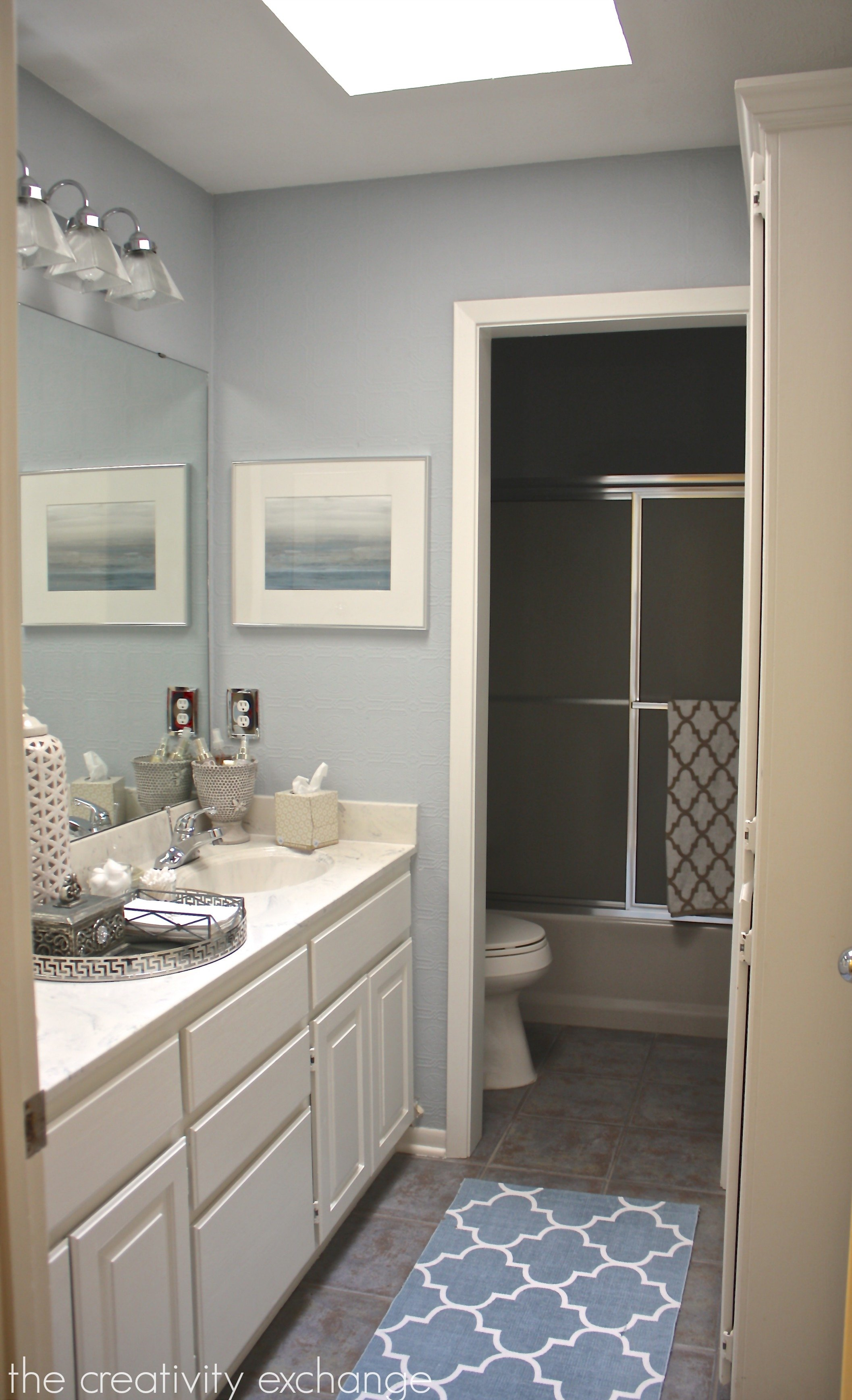 Wall Colors To Make Small Bathroom Look Larger: Paint Colors In My Home: My Color Strategy