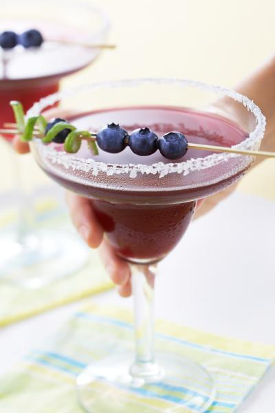 Blueberry Margarita.  Weekend Mix