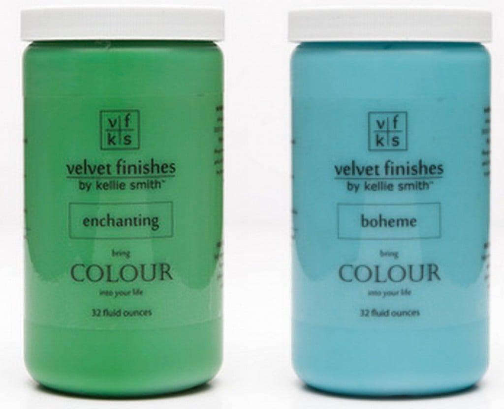 Velvet Finishes Paint. The Creativity Exchange