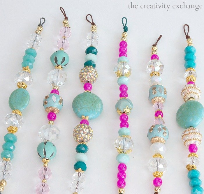 Easy DIY knot bracelets and necklaces that anyone can make using leather cord.  The Creativity Exchange