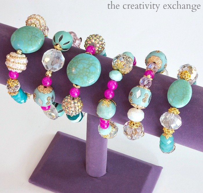 Easy DIY knot bracelets and necklaces that anyone can make.  No special tools needed.  The Creativity Exchange